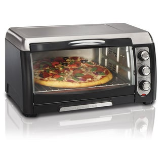Link to Hamilton Beach Black 6 Slice Convection Toaster Oven w/ Broiler Similar Items in Kitchen Appliances