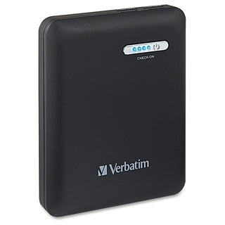 Verbatim Dual USB Power Pack, 12000mAh - Black