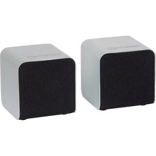Manhattan Lyric Duo Wireless Stereo Speakers with Bluetooth Technolog