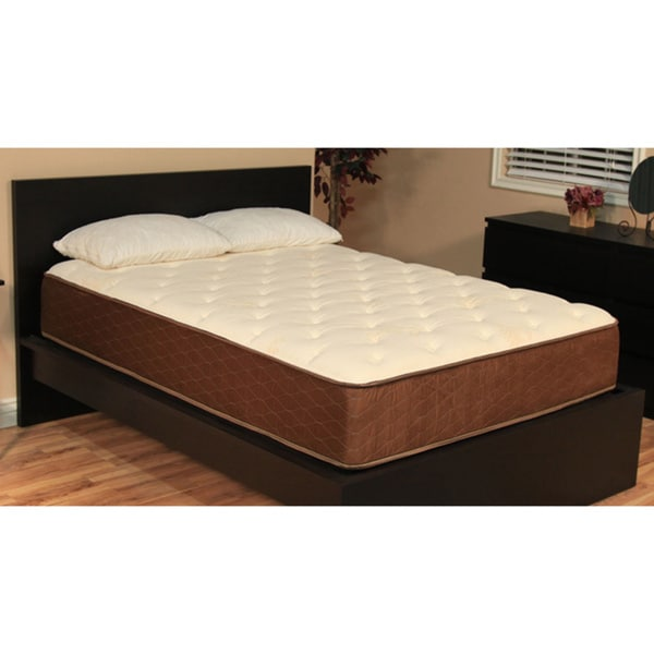 Overstock Memory Foam Mattress ... Queen-size Memory Foam Mattress with Two Bonus Memory Foam Pillows