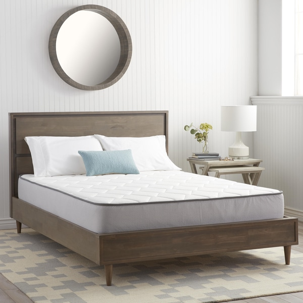 shop nuform 9 inch queen size firm memory foam mattress free shipping today overstock 8671978. Black Bedroom Furniture Sets. Home Design Ideas