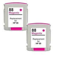 HP 88XL (C9392AN) Magenta Compatible High Yield Ink Cartridge (Pack of 2)