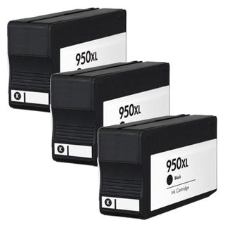 HP 950XL (CN045AN) Black High Yield Compatible Ink Cartridge (Pack of 3)