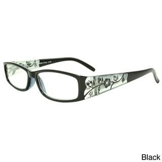 Epic Eyewear Women's 'Springwood' Rectangular Reading Glasses (+2.75)