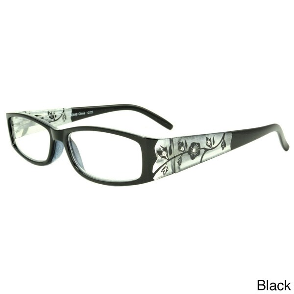Epic Eyewear Women's 'Springwood' Rectangular Reading Glasses (+2.50)