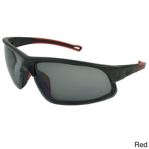 Epic Eyewear Men's 'Lawnwood' Wrap-around Sport Sunglasses