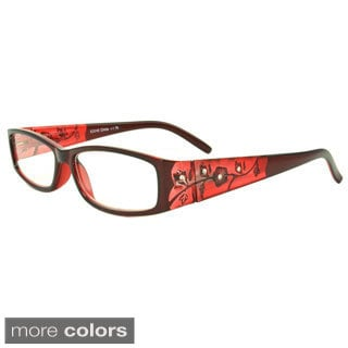 Epic Eyewear Women's 'Springwood' Rectangular Reading Glasses (+1.25)