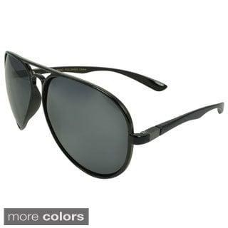 Epic Eyewear Men's 'Clintwood' Plastic Aviator Sunglasses