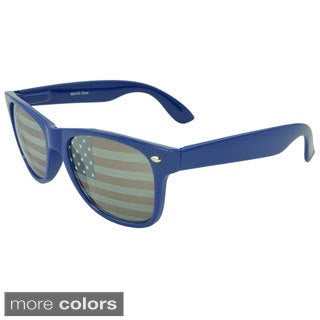 Apopo Eyewear 'St. Jude' American Flag Retro Sunglasses