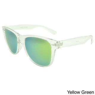 Apopo Eyewear Men's 'St. Francis' Clear Retro Sunglasses