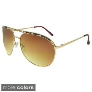 Apopo Eyewear Women's 'St. Margaret' Rhinestone Aviator Sunglasses
