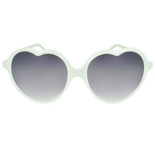 Apopo Eyewear Women's 'St. Mary' Heart Sunglasses