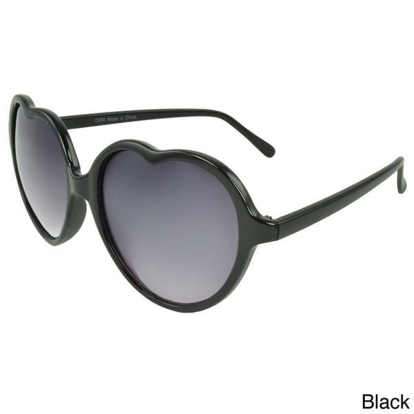 Apopo Eyewear Women's 'St. Mary' Heart Sunglasses
