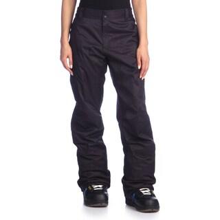 Rawik Women's 'Zephyr' Black Cargo Snow Pants