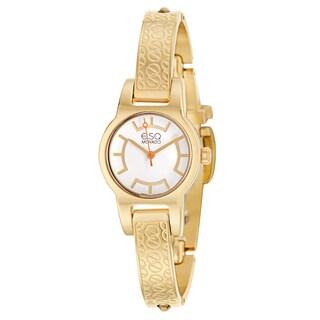 ESQ by Movado Women's 07101413 'Nova' Gold Plated Stainless Steel Swiss Quartz Watch