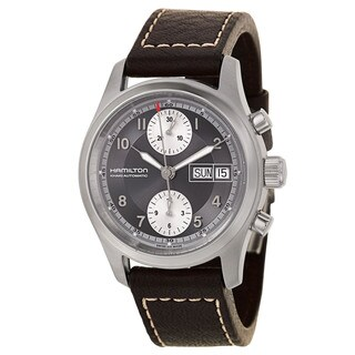 Hamilton Men's Stainless Steel Chronograph Watch