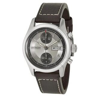 Hamilton Men's Stainless Steel Chronograph Watch