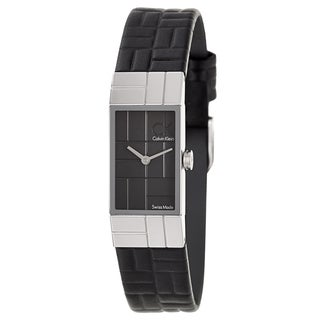 Calvin Klein Women's 'Cobblestone' Stainless Steel Swiss Quartz Watch