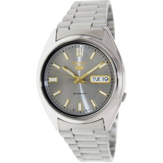 Seiko Men's Stainless Steel Automatic Watch
