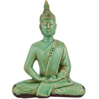 Thai 9-inch Sitting Buddha Statue (China)