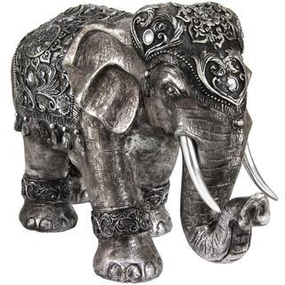 Auspicious 20-inch Elephant Statue (China)