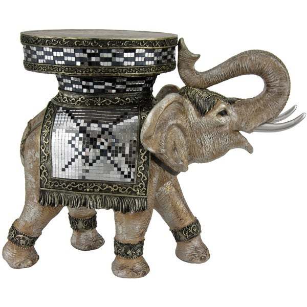 Standing Elephant 15-inch Statue (China)