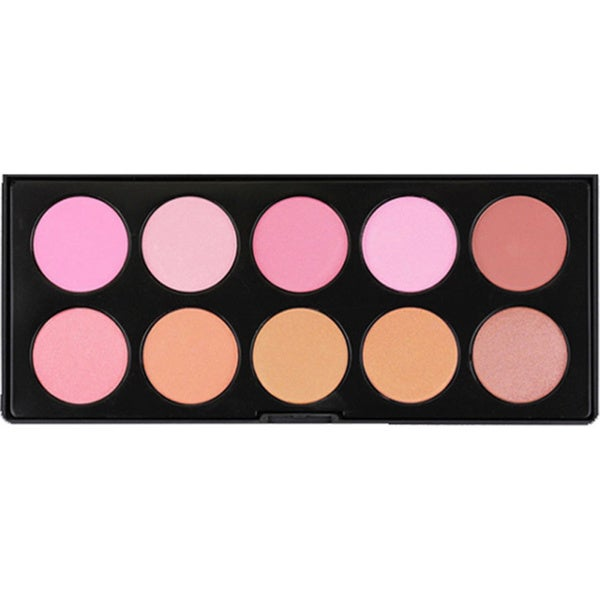 Morphe 10-Color Blush and Bronzer Palette