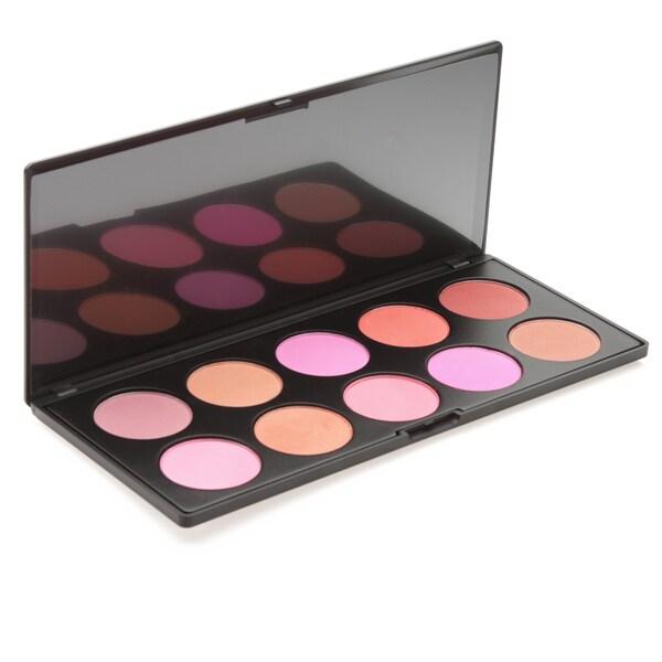 Morphe 10-Color Blush Palette