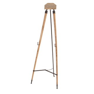 Studio 350 Metal Wood Easel 63 inches high, 23 inches wide