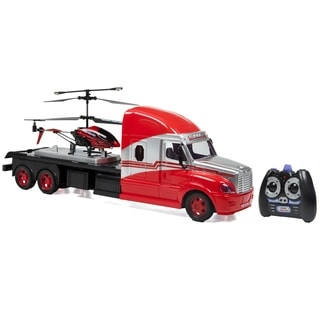 MegaHauler RC 3.5CH Helicopter And Electric Truck Combo Pack