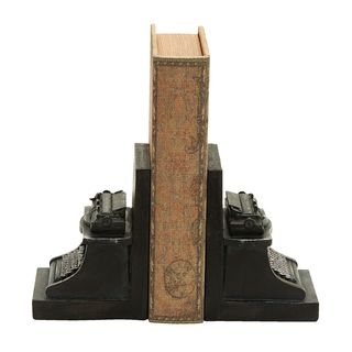 Carbon Loft Kellogg Typerwriter Themed Bookend (Set of 2)