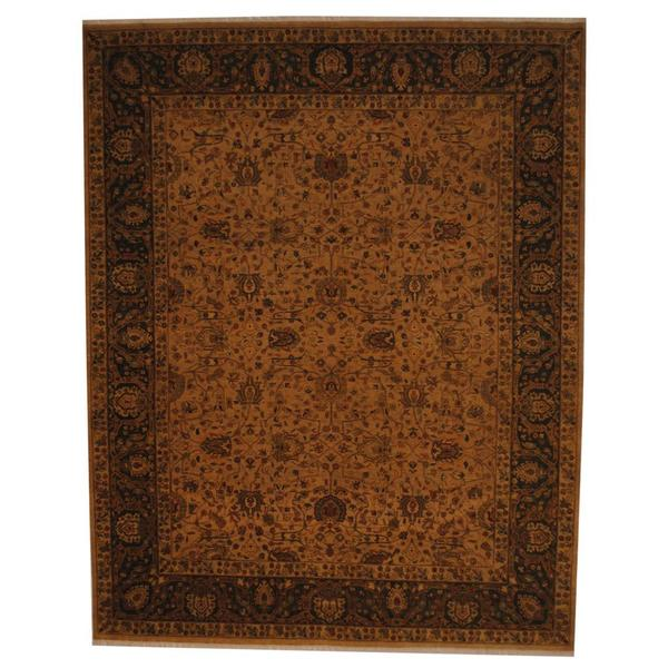 Herat Oriental Indo Hand-knotted Vegetable Dye Wool Rug - 8' x 10'
