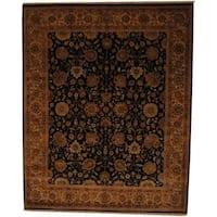 Handmade Herat Oriental Indo Vegetable Dye Wool Rug (India) - 8' x 10'
