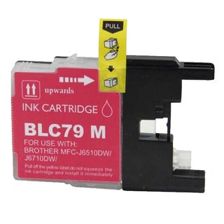 Brother LC79 Remanufactured Compatible Magenta Ink Cartridge
