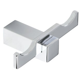 Italia Sorrento Chrome Double Robe Hook