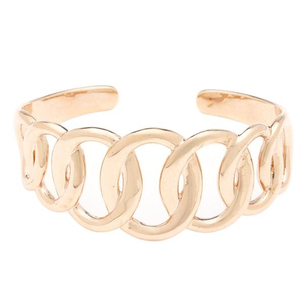 Multi Link Top Cuff Bracelet