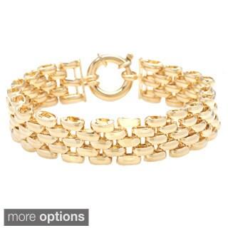 Gold Plated 8-inch Large Pantera Bracelet