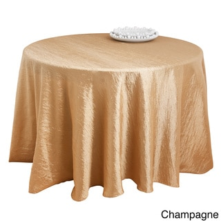 Crushed Fabric Tablecloth Liner