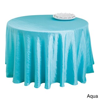 Crushed Fabric Tablecloth Liner (5 options available)