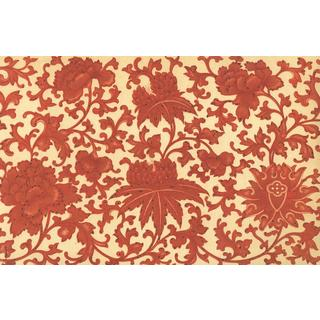 Harvest Stain-Resistant Reusable Paper Placemats (Set of 6)