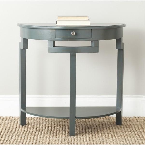 Teal Sofa Table: Shop Safavieh Liana Dark Teal Console