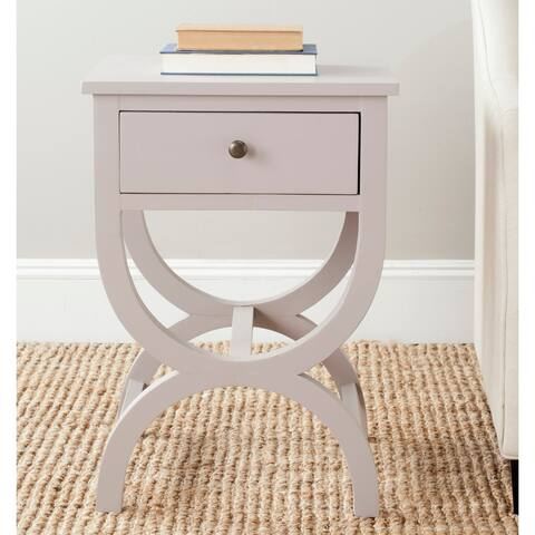 "Safavieh Maxine Grey Overcast End Table - 18"" x 15"" x 26.8"""