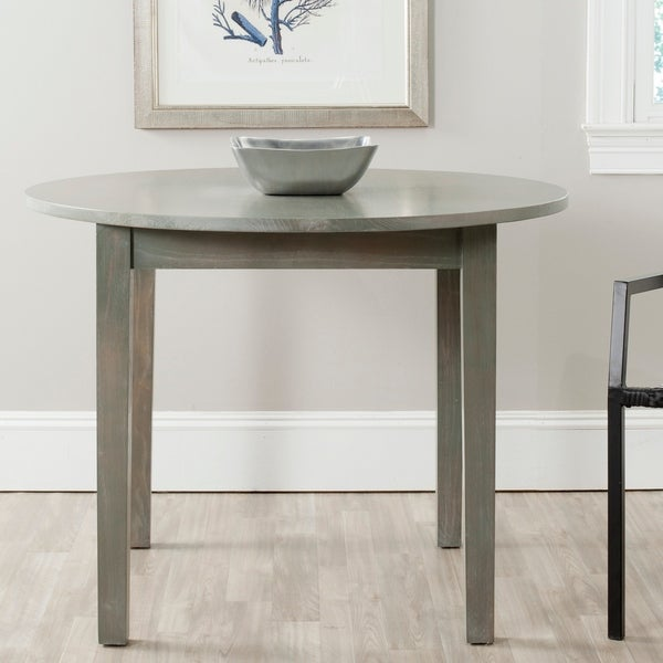 "Safavieh Holly Grey Dining Table - 39.4"" x 39.4"" x 30.1"""
