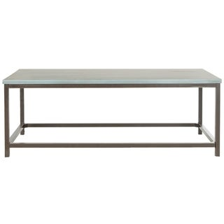 Safavieh Alec Steel Blue Coffee Table Free Shipping Today