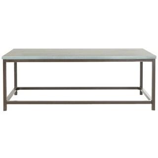 Safavieh Alec Steel Blue Coffee Table