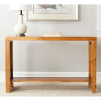 Safavieh Lahoma Light Oak Console
