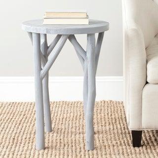 Safavieh Harper Pearl Blue Grey Round End Table