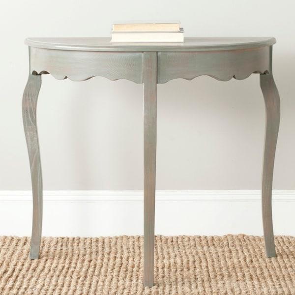 Teal Sofa Table: Shop Safavieh Aggie Dark Teal Console
