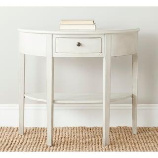 Safavieh Abram Off-White Birch Console Table