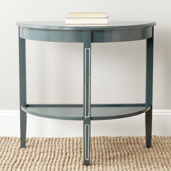 Safavieh Amos Dark Teal Console Free Shipping Today